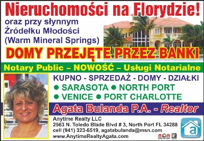 Agata Bulanda, P.A. - Realtor and Notary Public