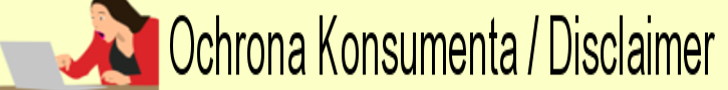 Ochrona Konsumenta Disclaimer