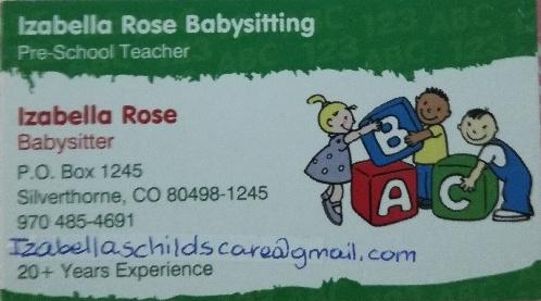 Izabella Rose Babysitting - Polish Child Care Colorado