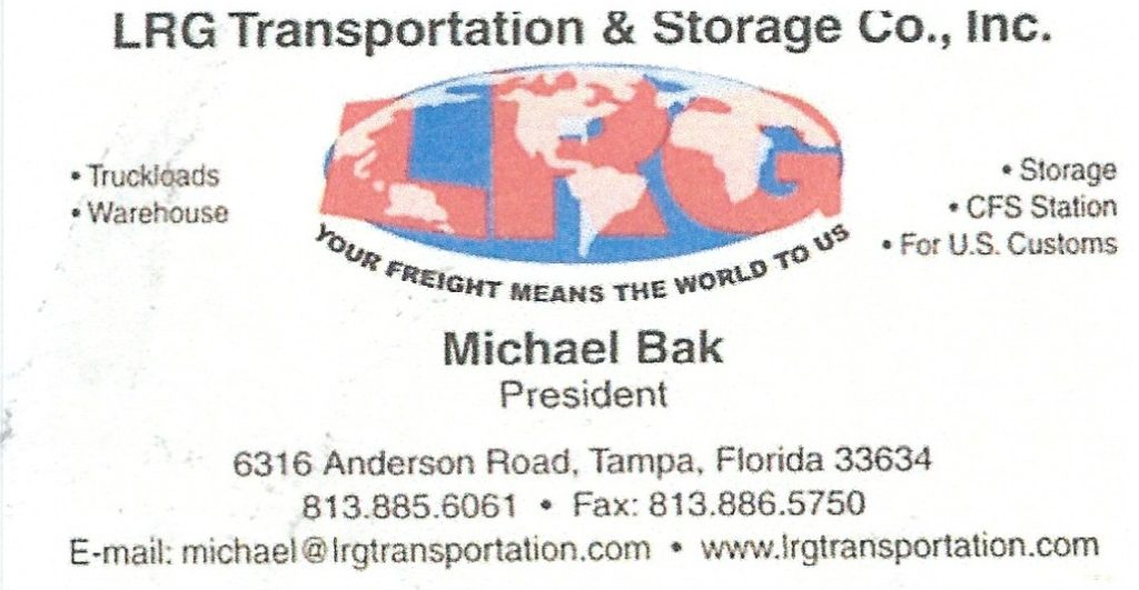 Transportation and Storage / Transport i magazynowanie in Florida