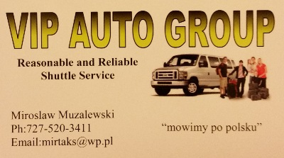 Polish Taxi, Polish Shuttle Service in Florida